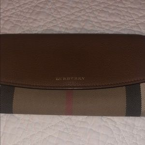 Authentic Burberry Medium Banner wallet